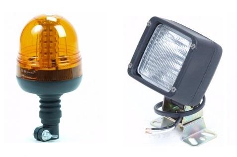 Zwaailampen en werklampen