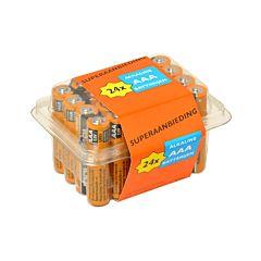 Batterij Duracell Industrial 1.5v AAA XL verpakking 24 stuks