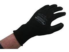 Werkhandschoen zwart PU flex maat XL (10)