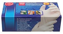 Werkhandschoenen latex L 100dlg