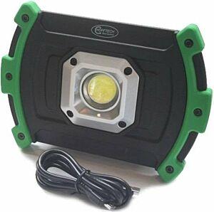 Led werklamp / bouwlamp 10W COB oplaadbaar 2200 mAh