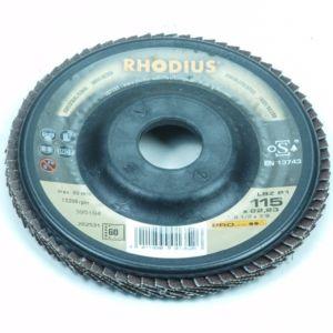Lamellenschuurschijf 115MM / Korrel 60 (Rhodius)