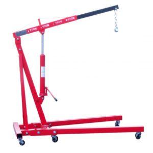 Motorblokkraan / werkplaatskraan 2 Ton rood model