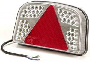Achterlicht rechts 56 Led met driehoek