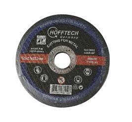 Doorslijpschijf metaal 125x2.5x22.2 mm