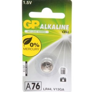 Batterij knoopcel LR 44 GP Alkaline