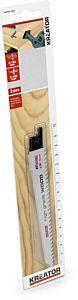 Reciprozagen 150mm klein model voor hout 2 stuks