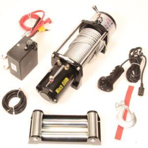 Bumperlier / autoambulancelier 12v 8500LBS (3863kg trekkracht)