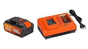 Lader + Samsung accu 2.5Ah/40V LI-ION Dual Power