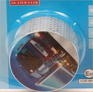 Reflecterende tape zilver 2,75 meter