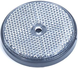 Reflector rond wit 60mm