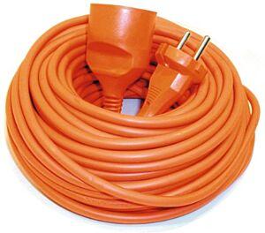 Verlengsnoer oranje 20 Meter