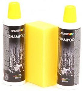 Wash en Shine Shampoo set 2 x 500ml + spons MOTIP