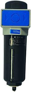Olie- en waterafscheider 1/4'' (voor compressor)