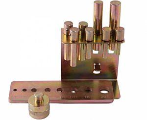 Werkplaatspers accessoires set / perspennenset