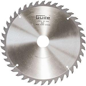 Zaagblad hardmetaal 210x30mm / 40 tanden