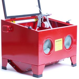 Zandstraalkast  / straalcabine + zandstraalset (Tafel model)