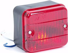 Mistachterlicht / Mistlamp 87x77x50MM (incl. lamp)