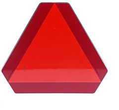 Verkeersbord Langzaam rijdend verkeer - afgeknotte driehoek