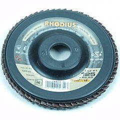 Lamellenschijf / lamellenschuurschijf 125MM / Korrel 60 (Rhodius)