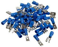 Kabelschoen 50 x man+vrouw blauw