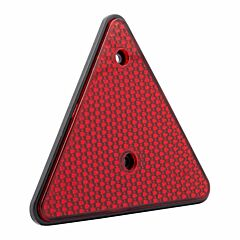 Reflector driehoek rood 1 Stuk