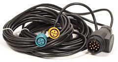 Achterlicht kabelset 6 meter 13 polig
