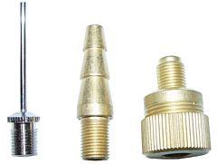Adapterset / verloopset ventiel 3 delig