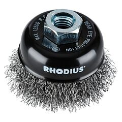 Komborstel / staalborstel Rhodius 65x21xM14