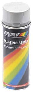Motip alu-zinkspray hittebestendig - spuitbus 400ML