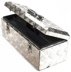 Aluminium kist / gereedschapskist alu 570x240x220mm