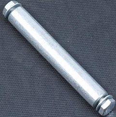 Kruiwagenwiel as metaal + bouten