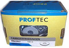 Proftec carrosseriering VZ DIN9021 M8 (100)