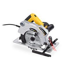 Cirkelzaag 185mm / 1500W + laser Powerplus