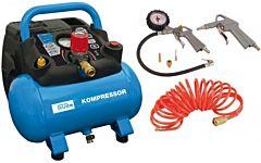 Compressor 6LTR Güde 190/08/6 + luchtgereedschapset