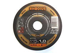 Doorslijpschijf Metaal+RVS 115x1 RHODIUS (1 stk)