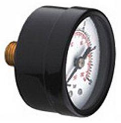 Manometer / drukmeter 50mm horizontaal t.b.v. compressor