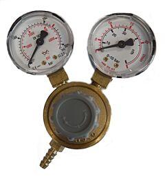 Gasregelaar / reduceerventiel voor menggasflessen Co2/Argon (NL aansluiting)