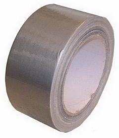 Reparatietape / duct-tape grijs 50 meter