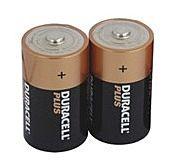Batterijen Duracell Plus MONO (D) 2 STK