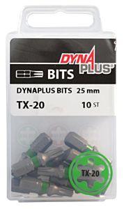 Dynaplus schroefbit TX20 25mm 10 stuks