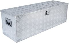 Aluminium kist groot 1250x410x410mm