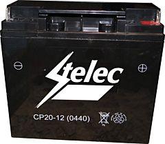 Accu voor (diesel/benzine) generatoren e.d. (12V 20AH)