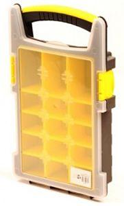 Opbergbox / opbergkoffer / assortimentsdoos 210x338x62mm