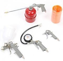 Luchtdrukset voor de compressor 5 delig