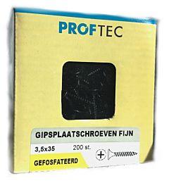 Proftec gipsplaatschroef PH-2 3.5x35 (200 stuks)