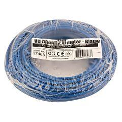 VD-Draad 2.5mm² 20 meter blauw