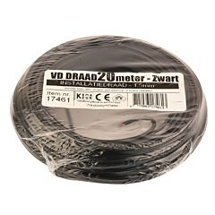 VD-Draad 1.5mm² 20 meter zwart