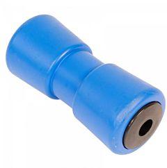 Kielrol Blauw 185x81 mm. - asgat 20mm