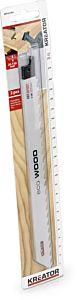 Reciprozagen 225mm lang model voor hout 2 stuks